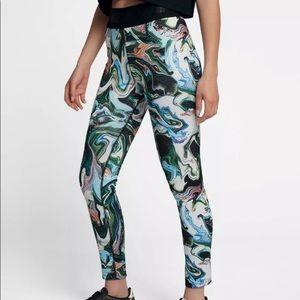 Nike Legasee High Rise Marble Swirl Leggings